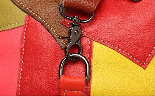 Daypack à Nouveau À Black YiNan Mode Sac Femmes dos Sac Shopping Sac Main Casual Portefeuille Voyage Collège nR4nYwTq