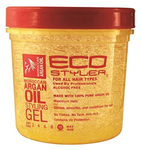Eco Style Styling Gel, Argan Oil, 24 Ounce