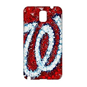 Fortune Washington nationals logo 3D Phone Case for Samsung Galaxy Note 3