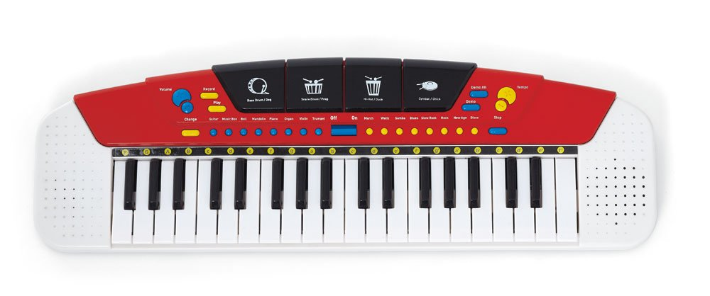 Kidoozie Let's Jam Keyboard with 37 Keys, 8 Built in Songs, and Lots of Sound and Instrument Effects by Kidoozie