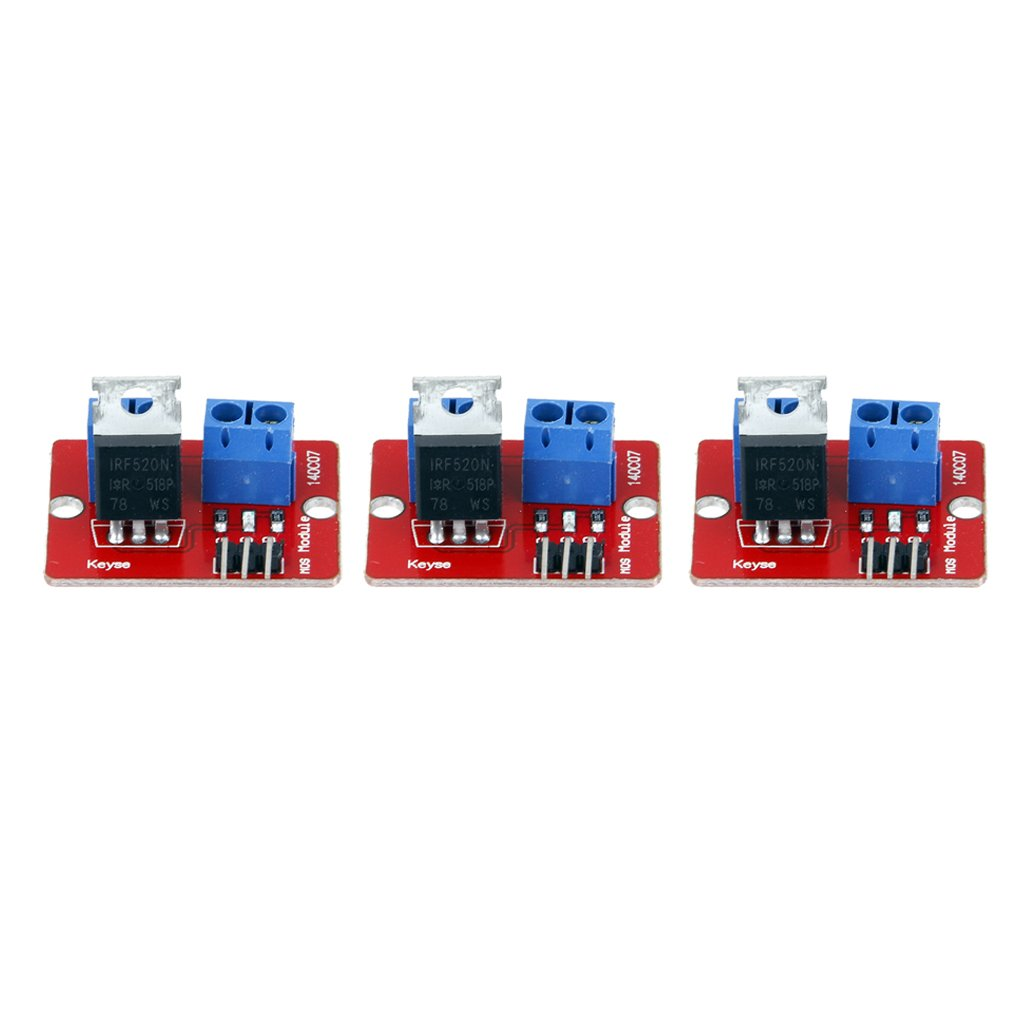Dolity 3 Pack IRF520 MOSFET Driver Module for Arduino