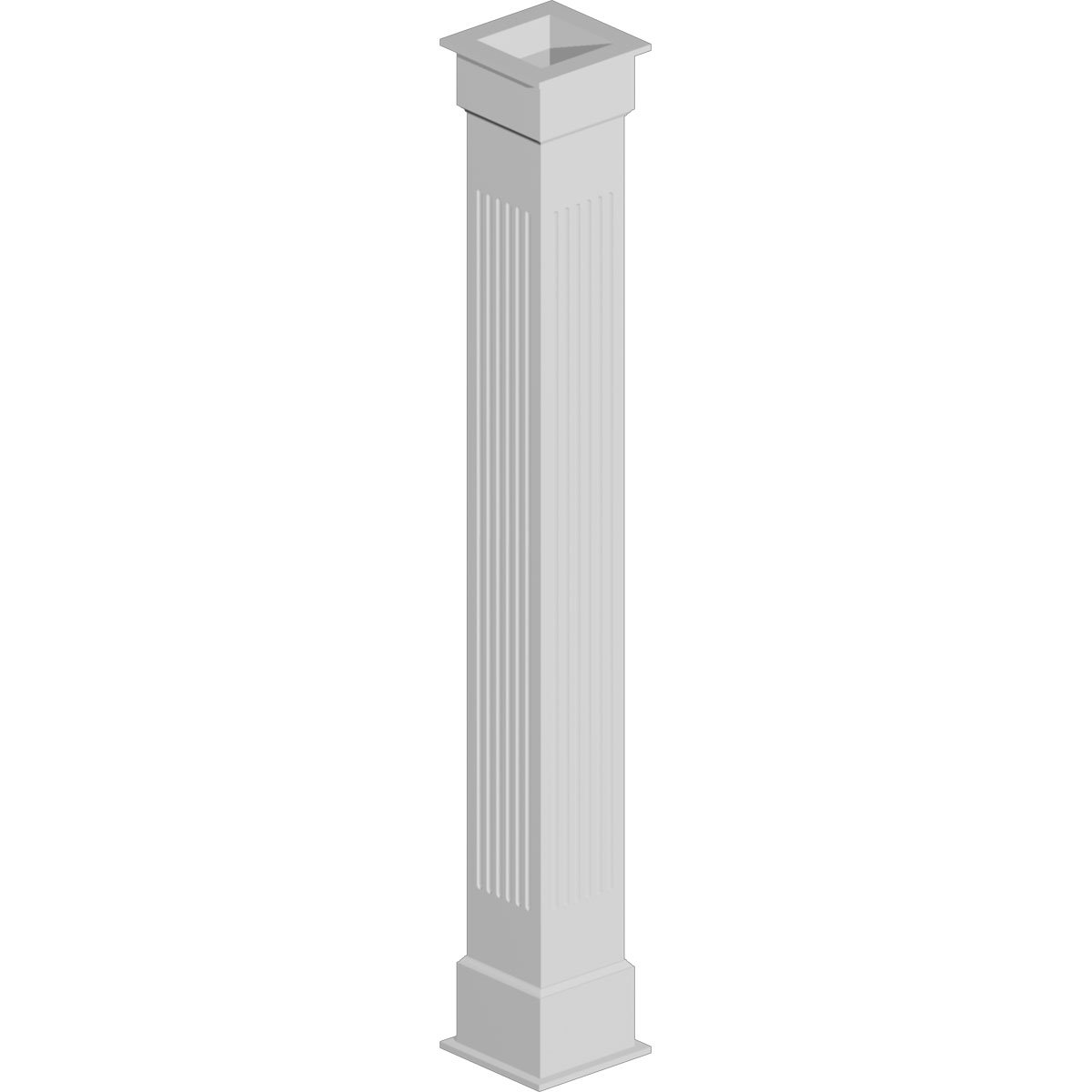 COLUMN WRAP KIT 8X108 F 1BX, NON TAPERED FLUTED
