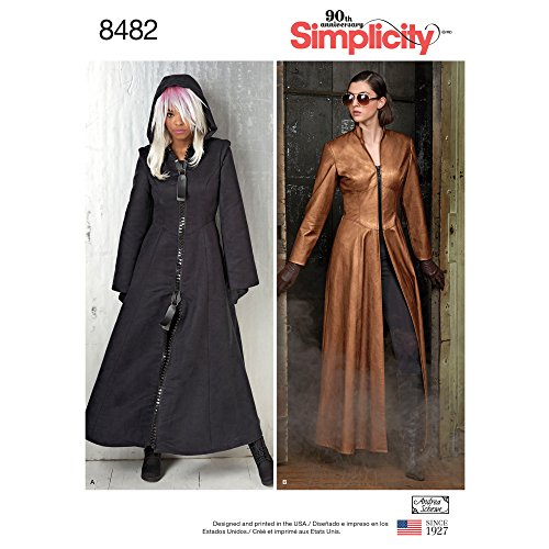 Simplicity Creative Patterns US8482R5 Sewing Pattern Costumes 14