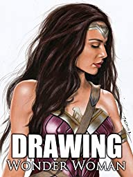 Clip: Drawing Wonder Woman