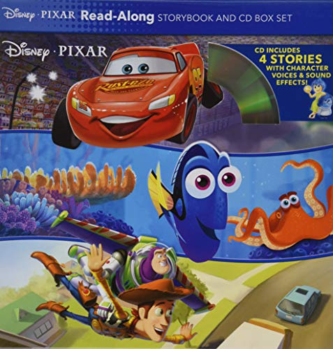 Disney*Pixar Read-Along Storybook and CD Box -