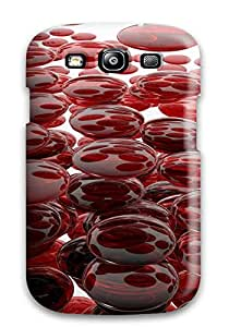 New K Wallpapers Texture Tpu Case Cover, Anti-scratch AnnaSanders Phone Case For Galaxy S3