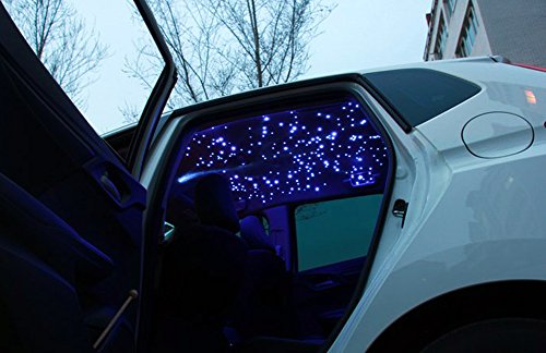 corpereal 12v car rgb led fiber optic star light kit for car roof ceiling headliner lighting. Black Bedroom Furniture Sets. Home Design Ideas