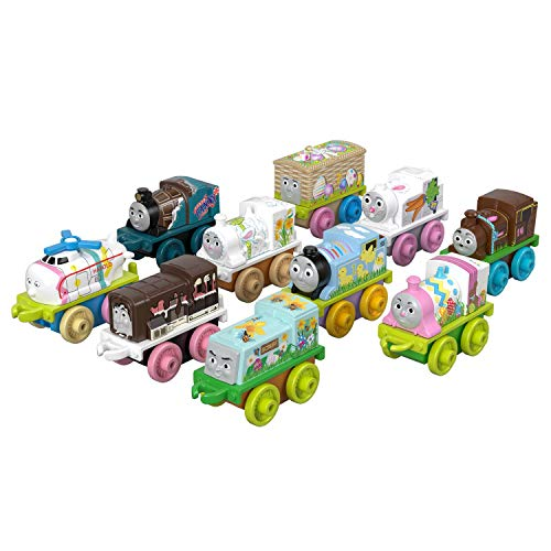 Thomas & Friends Fisher-Price Minis, Spring Basket Toy, Multicolor