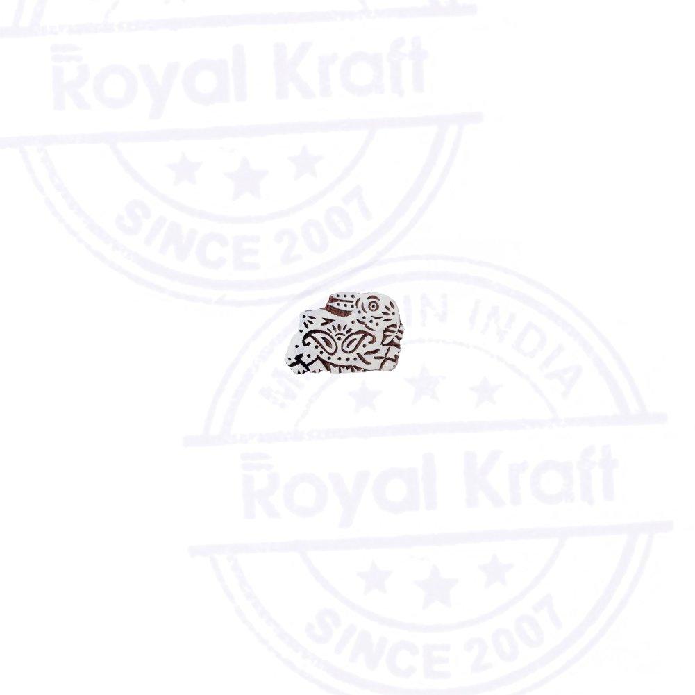 Royal Kraft Exclusive Rabbit Animal Pattern Wooden Printing Block