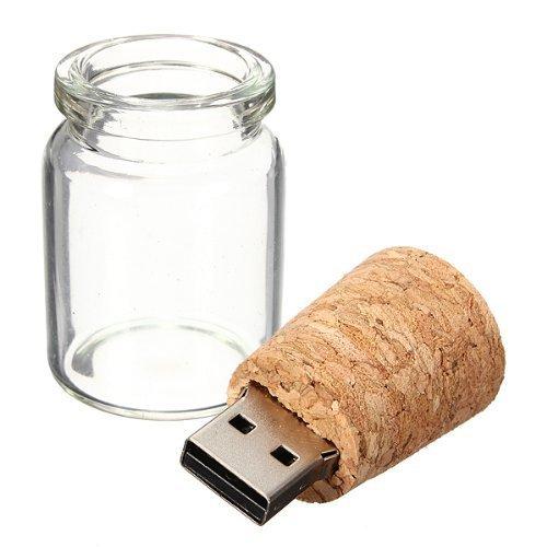 10 Piezas 3D Botella de Vidrio Memoria USB de 8GB Regalo de Bodas: Amazon.es: Electrónica