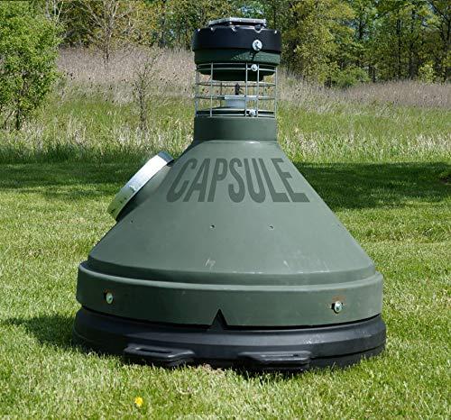 Capsule Feeders CAP-500 500 LB Hunting Game Feeder, Green
