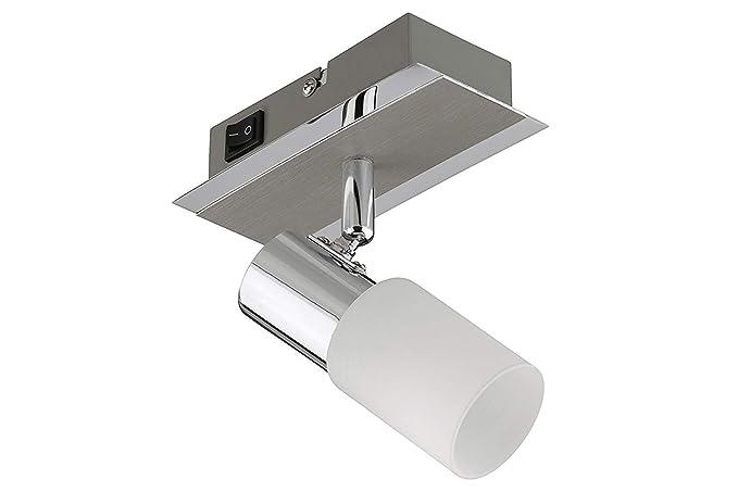Trango leuche bagno lampada da parete 1 luci led specchio lampada