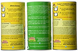 Tony Chachere\'s Famous Creole Cuisine Seasoning and Mix 3 Flavor Variety Bundle: (1) Tony Chachere\'s Original Creole Seasoning, 17 oz., (1) Tony Chachere\'s Creole Instant Roux Mix, 10 Oz., and (1) Tony Chachere\'s Creole Brown Gravy Mix, 10 Oz.