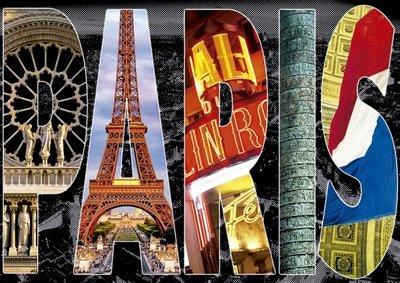 Educa 16757 Puzzle 1000 Paris Collage