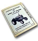 Allis Chalmers Operators Owner Manual D-15 Series Ii 2 Gas, Lp & Diesel Tractor
