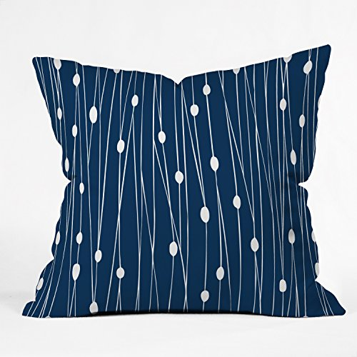Cheap  Deny Designs Heather Dutton Navy Entangled Throw Pillow, 16 x 16