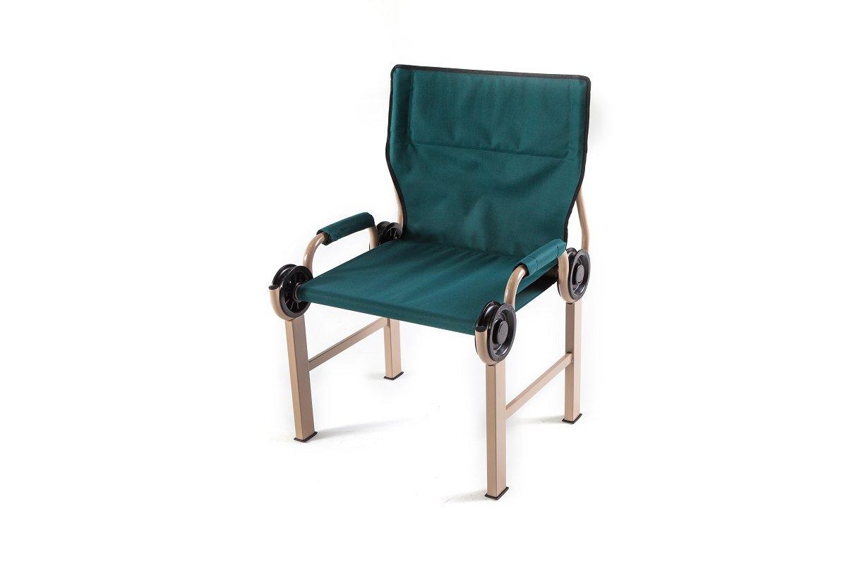 Disc-O-Bed Disc-Chair Portable Camp Chair, Green