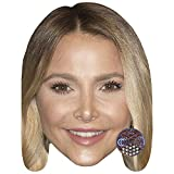 Celebrity Cutouts Sophie Hermann Big Head. Larger Than Life mask.