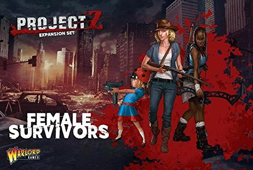 Project Z Expansion Set - Female Survivors by Warlord Games