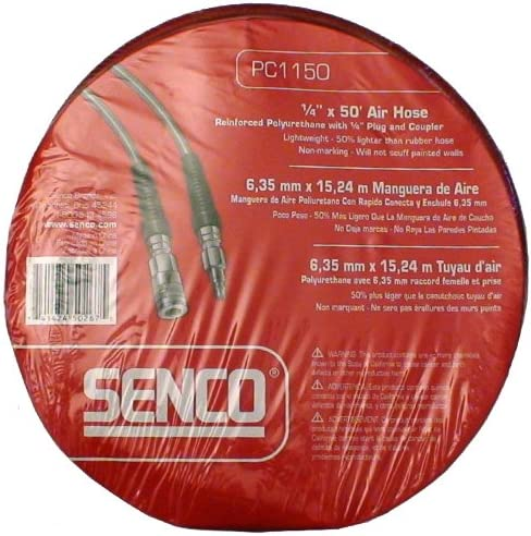 Senco PC0065 Hose 3//8-inch by 50 foot with 1//4-inch Couple Plug