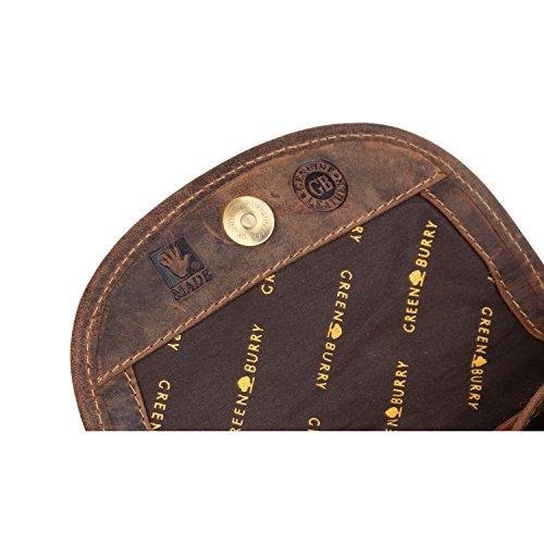 Greenburry Vintage borsa a tracolla pelle 17 cm brown