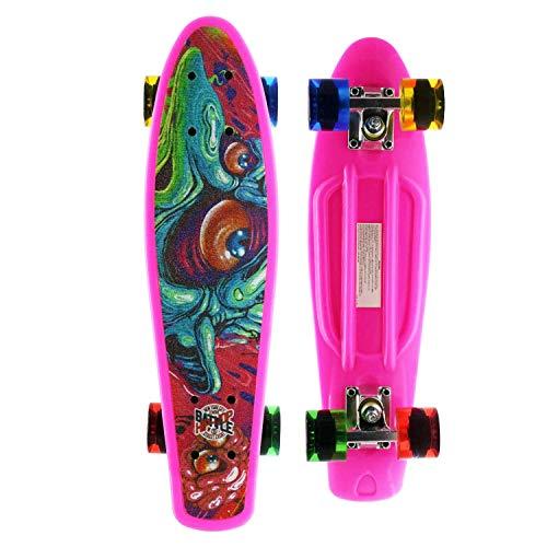 complete skull skateboard