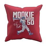 500 LEVEL Mookie Betts Boston Baseball Pillow - Mookie Betts Hyper