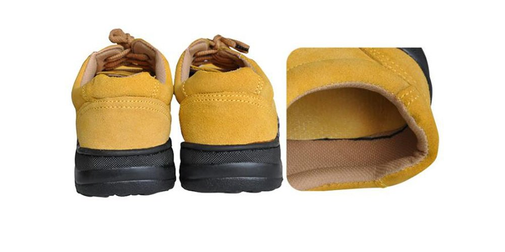 Men's Work Safety Shoes, Steel Toe Work Shoes Industrial & Construction Shoes Puncture Proof Safety Shoes (11) by GeBaoZhen (Image #7)