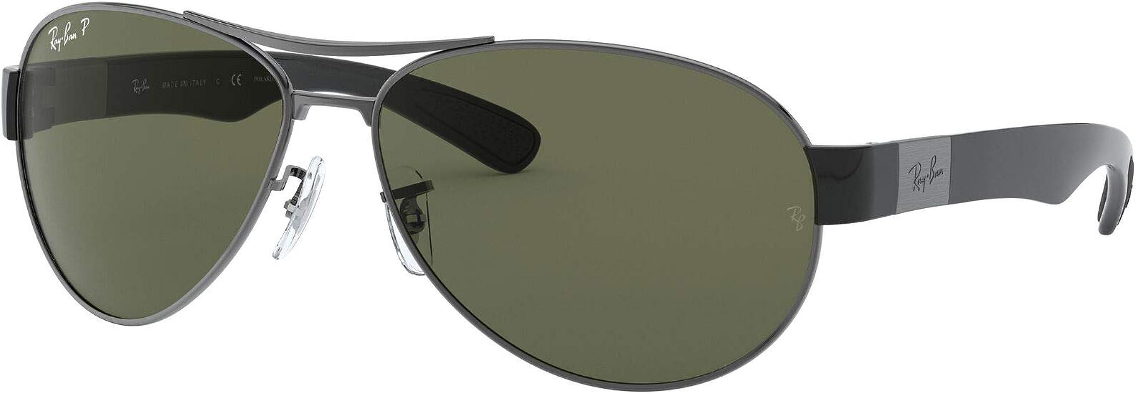 Ray-Ban 0RB3509 Gafas de sol, Gunmetal, 63 para Hombre: Amazon.es ...
