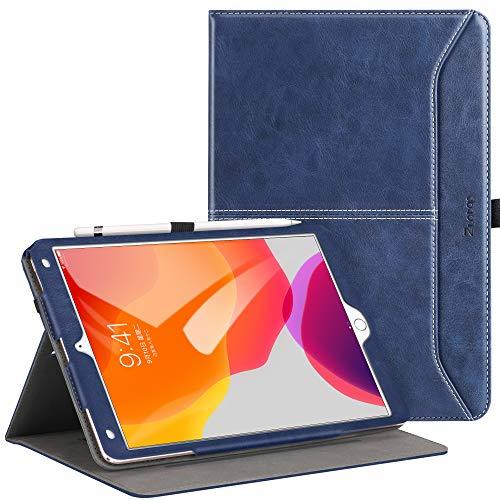 [해외]Ztotop 아이패드 10.2 케이스 2019 프리미엄 PU 가죽 슬림 접이식 스탠드 커버 자동 깨우기잠자기 멀티 뷰 앵글 아이패드 10.2 인치 2019 7세대용 / Ztotop for iPad 10.2 Case 2019, Premium PU Leather Slim Folding Stand CoverAuto WakeSleep, M...
