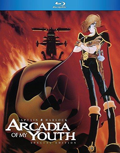 Captain Harlock Arcadia of My Youth Blu Ray -