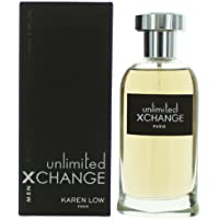 X Change Unlimited by Karen Low 3.4 oz Eau De Toilette Spray Mens Cologne NIB