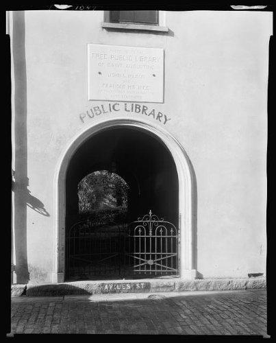 Photo: Public Library,5 Aviles Street,Saint Augustine,St Johns - Augustine Fl Shopping In St