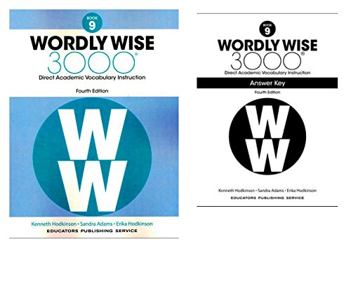 Wordly Wise 3000® 4th Edition Grade 9 SET -- Student Book and Answer Key (Direct Academic Vocabulary Instruction) - 4th Grade Set