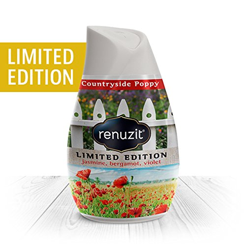Renuzit Adjustables Air Freshener, Limited Edition, Countryside Poppy Gel, 7 oz (Pack of 12)