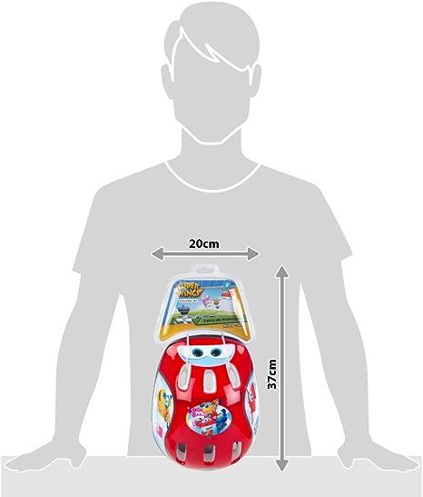 Super Wings - Casco protección para bici patinete o monopatín (77015): Amazon.es: Juguetes y juegos