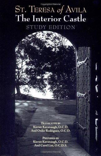 By St Teresa of Avila The Interior Castle Study Edition (Reprint)