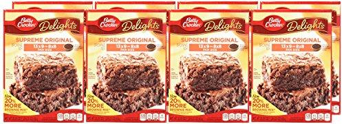 Betty Crocker Delights, Supreme Original Brownie Mix, 22.25 Oz Box (Pack of 8) by Betty Crocker (Image #1)