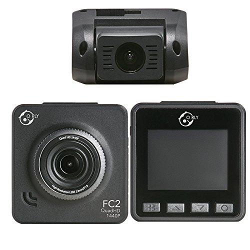 o rly fc2 quadhd dash camera hd 1080p auto kamera dual. Black Bedroom Furniture Sets. Home Design Ideas