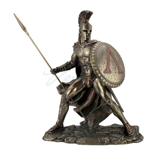 Greek Military King Leonidas Statue Bronze Finish 51IkdLrsgLL