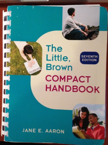The Little Brown Compact Handbook