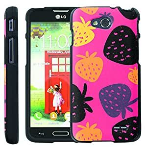 [ManiaGear] Design Graphic Image Shell Cover Hard Case (Strawberry Season) for LG Optimus L90