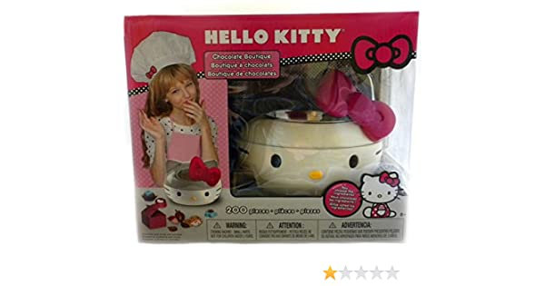Amazon.com: SANRIO Hello Kitty Sweet Shop/Chocolate Fondue Candy Making Kit-Ages 6+: Toys & Games