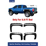 """Tyger Auto TG-FF8C4108 For 2007-2013 Chevy Silverado 1500 (ONLY Fit 69.3"""" Short Bed) (Excludes 07 Classic Models) 