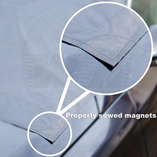 Amazon.es: Cubierta antinieve magnética para parabrisas de WindAigis - No vuelva a rascar el hielo - Protección de los limpiaparabrisas - Bolsa de ...