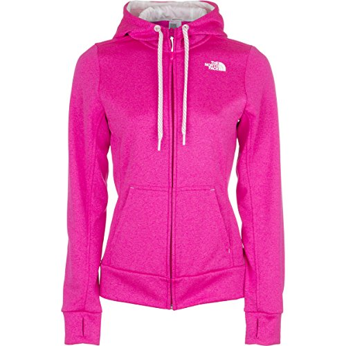 Amazon.com: The North Face Fave Full-Zip Hoodie - Women's Glo Pink Heather/Tnf  White, XS: Sports & Outdoors