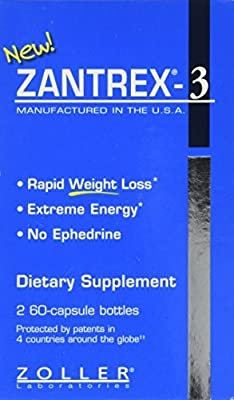 Zantrex-3 - Rapid Weight Loss Incredible Energy - 2/60 Ct. Bottles by Weight Loss Supplements