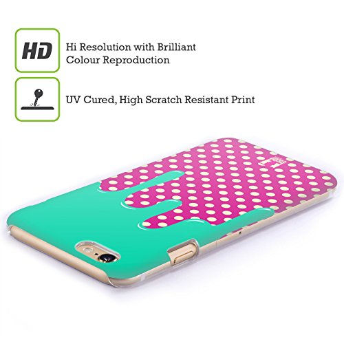 Head Case Designs A Puntini Pattern Sciolti Cover Retro Rigida per Apple iPhone 7 Plus / 8 Plus