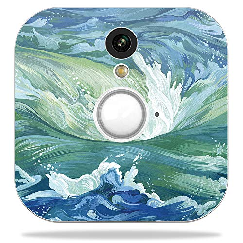 MightySkins Skin for Blink Home Security Camera – Cyclone Wave | Protective, Durable, and Unique Vinyl Decal wrap Cover | Easy to Apply, Remove, and Change Styles | Made in The USA