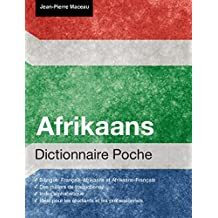 Dictionnaire Poche Afrikaans (French Edition)
